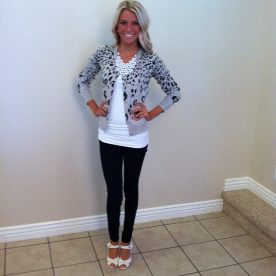 Pinspiration Cardigan and Leggings