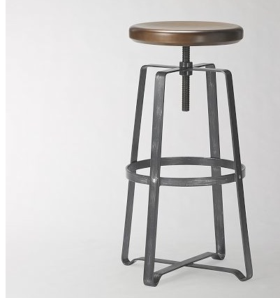 west elm industrial stool