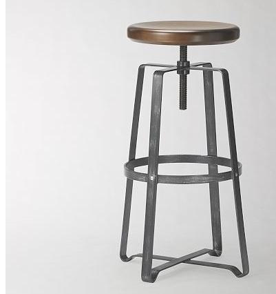 west elm industrial stool