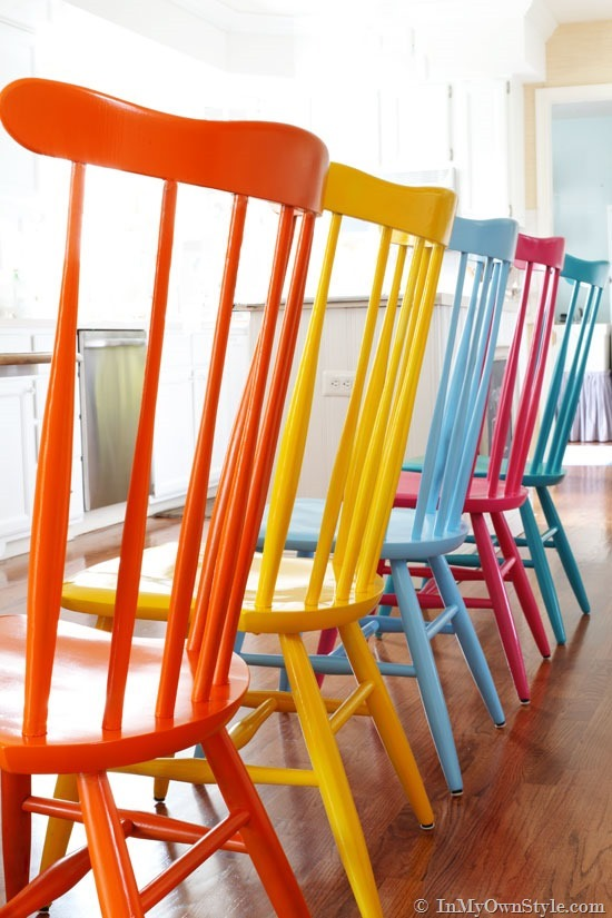 simple chair color
