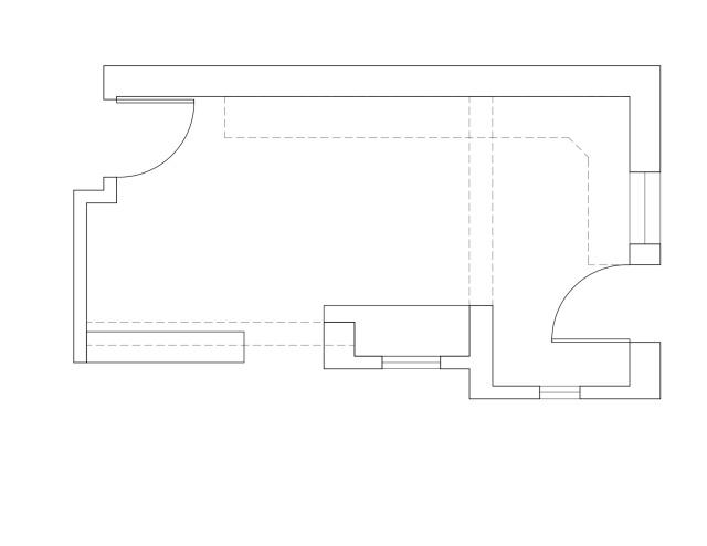 Woodland Kitchen Original Plan