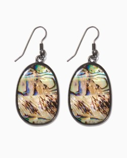 charming charlie abalone earrings