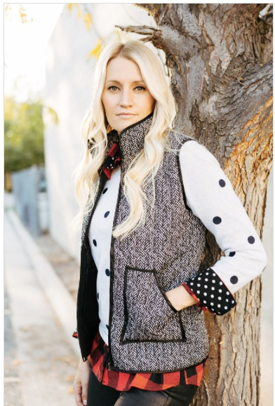MindyMae.Quilted Vest