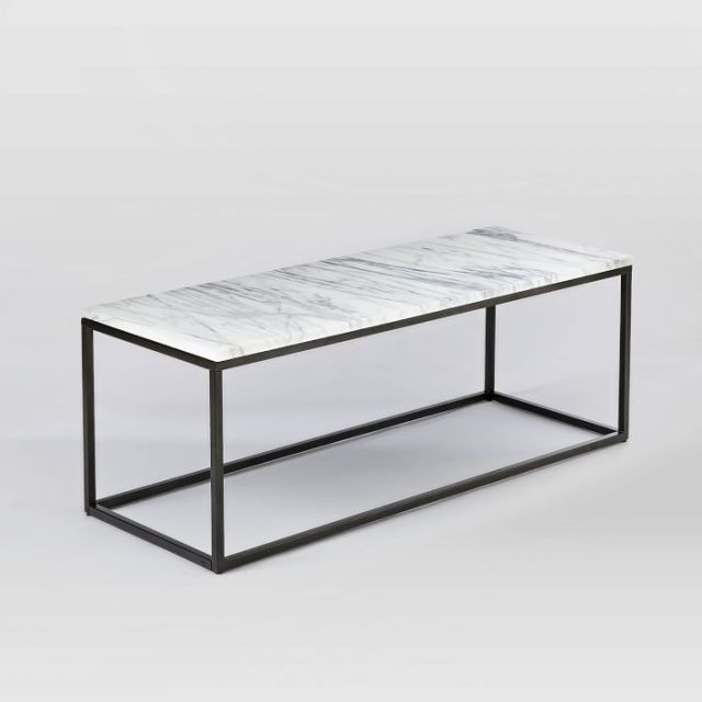 West Elm.Box Frame Coffee Table