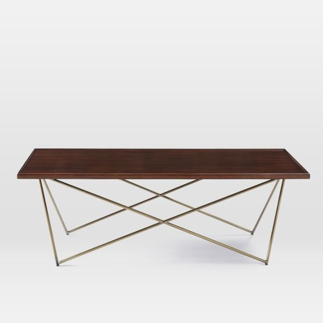 Coffee Table Legs Brass: On The Hunt: Striped Peplum, Sophisticated Coffee Table