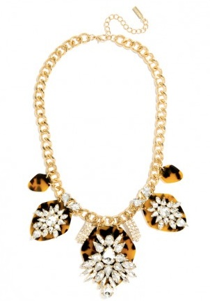 Bauble Bar.Constellation Bib Necklace Tortoise