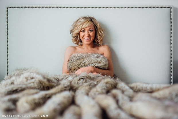 Hoffer Photography.fur bed