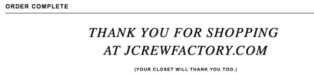 J Crew Herringbone Vest Confirmation Blog