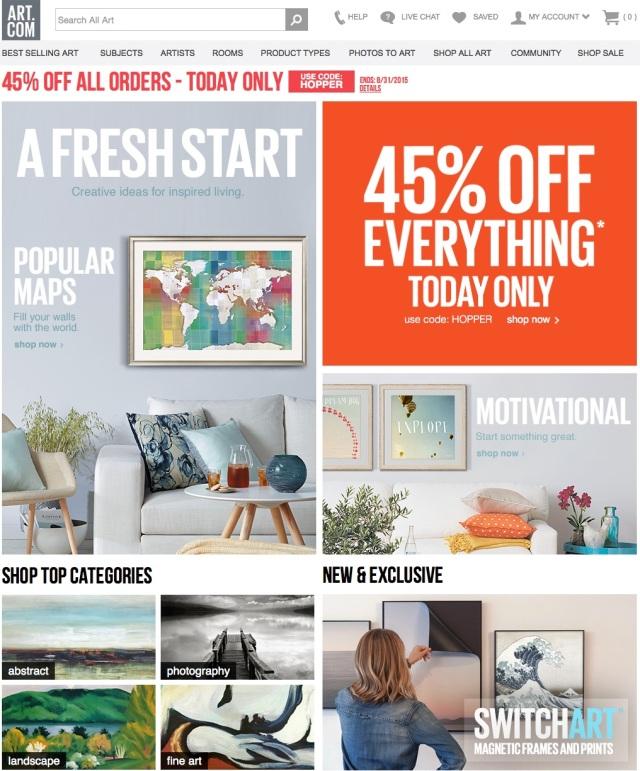 art.com sale